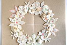 DIY garlands wreaths mobiles / by Anna S
