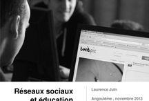 Réseaux sociaux / by MFR Puy-Sec