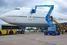 Aircraft Maintenance Platforms / by Industrial Man Lifts