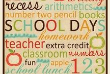 Kids School Ideas / by Hafsa Creates