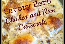 casseroles/slow cooker recipes / by Pam Nunnally