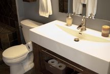 Small bathroom remodel / by Suzy
