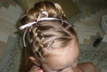 """Little Girls cute """"hairstyle"""" ideas / by Rossy Vazquez-Godoy"""