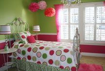 Girl's room ideas / by Sarah Swillen