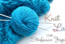 knitting / by Stefanie Japel