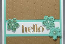 Flower cards / by Kathy Spade