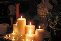 My love of candles / by Linda Chavis