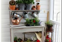 Patios, Porches and Potting Benches / by Debbie Booth