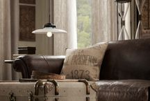 A Touch of Masculine: Home&Fashion / by Sue Baehr