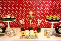 party ideas / party themes, place settings, guest gifts, menus / by Leah Short @ So, How's It Taste?