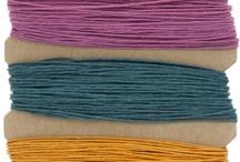 Hemp & Silk / by TooCuteBeads .com