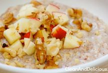 Clean Eating Breakfast / Simple, nutritious, delicious meals to start your day! / by Dani Spies