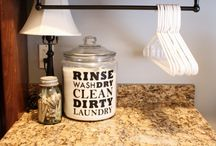 Laundry room / by Jessica Crowley Howard