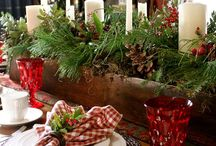 Christmas Tablescapes, Ornaments, Decor, and, Wreaths / by Sharon Lucas Minnick