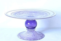 Art Glass/Ceramic/Metal Cake Stands / Repin as many as you like....the whole point of this is to share!  / by Ann Levin