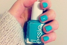 Nailz / I stay doing my nails / by Cheyenne Battle