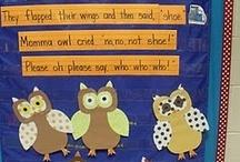 owls / by Laura Sanders