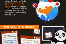 Sökmotoroptimering - SEO infographics / Google gör årligen över 500 uppdateringar i sökmotorns algoritmer och det innebär att sökmotoroptimering (SEO) är i ständig utveckling. Här under Sökmotoroptimering - SEO infographics kommer jag att pinna infografik som hjälper SEO-riddare att förstå en del saker bättre. / by Werner Töniste