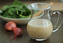 dressings, spices, & sauces / by Courtney Sim