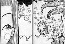 Sketchbooks+ Drawing tutorials / by Michelle Maher