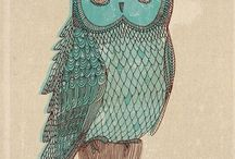 owls / by Dana Blackwell
