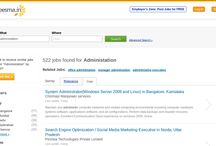 Administrations jobs / Jobs Administation vacancies in Careesma. 522 job offers in Careesma for Administation. You can see all the jobs for Administation, Page 1 out of 29 pages... / by Careesma.in India
