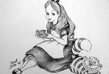 Alice in Wonderland Tattoo / by Lizz