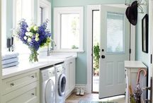 laundry rooms / by Kellie Pigue