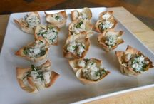 Appetizers / by Cathy Pepin - Casa Chocolate Bed and Breakfast