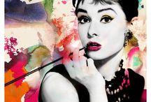 Audrey Hepburn / The most elegant and beautiful woman ever / by Rachel Sciffa
