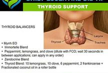 Essential Oils-Thyroid / by Tina Almario
