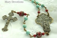 For the love of rosaries <3 / by Liz Matar