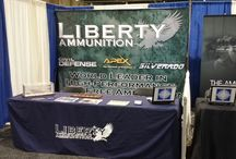 2014 Jerry's Sport Center Dealer Show / Our booth at the 2014 Jerry's Sport Center Dealer Show in Harrisburg, PA. Today is the last day of the show! / by Liberty Ammunition