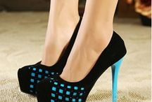 Hot High Heel Shoes and Booties! / Beautiful heels of all types  / by Kay Fincher Copsey