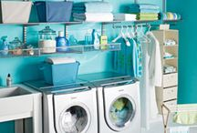 makeover :: laundry room / My Laundry Room needs a makeover.  These are the REAL plans I'm going to execute.   / by Carey Pace