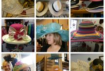 Hats for Gardening, Weddings, Casual and Great Style / by Accessories with a Flair!...and Hair