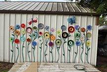 Garden art I dig / Whimsical, creative, garden related art. / by Patsy Bell Hobson