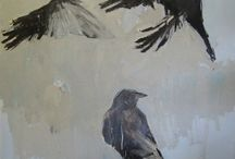 Crows and ravens  Corvus  / Crows and ravens / by Steven Parkhurst