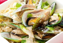 Recipes - Seafood - Mussels / by Cheryl Wedlake