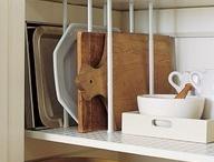 Storage {Kitchen} / by Sasha Stubblefield