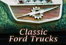 Ford Trucks / Mostly Oldskool (United States) / by Brandon M