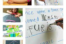 Actividades de escritura para niños / by Lucia Rocha
