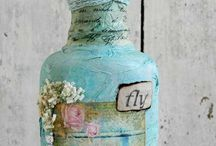Mixed media projects / by Janey Pye