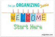 Getting Organized / by Chrissy Abramovitz