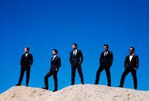 Backstreet Boys / Nick Carter Brian Littrell Aj McLean Howie Dorough Kevin Richardson / by Angela Maisto
