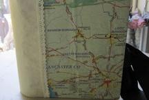 Reusing Maps! / by Kimberlie Kohler Designs