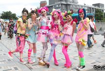 Japanese Styles & Fashions / Street Styles and All Fun Things Japanese! / by Allison Kaminski