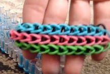 <3 loom bracelets / by Michelle Crocker