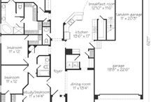 Dream home floor plans / Collecting floor plan ideas for my future dream home. / by Britt
