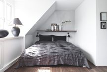 Attic - bedroom / by Therese Jönsson